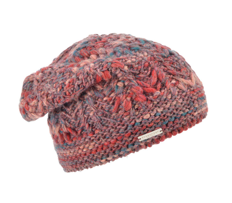 Seeberger 018112/2139 ruby Beanie Hat