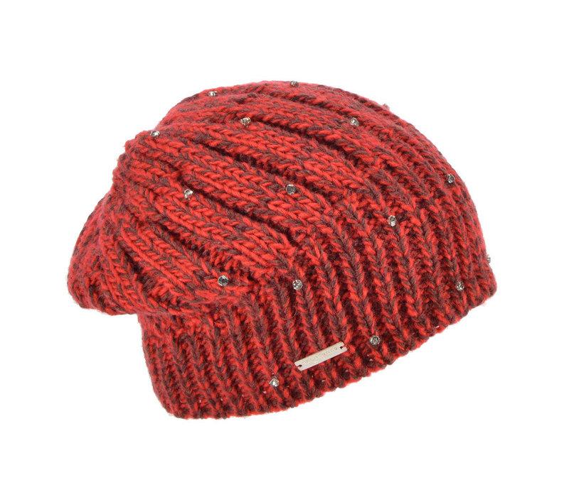 Seeberger 017965/2124 Ruby diamonte hat