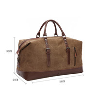 GESSY LB105 Travel Bag in coffee