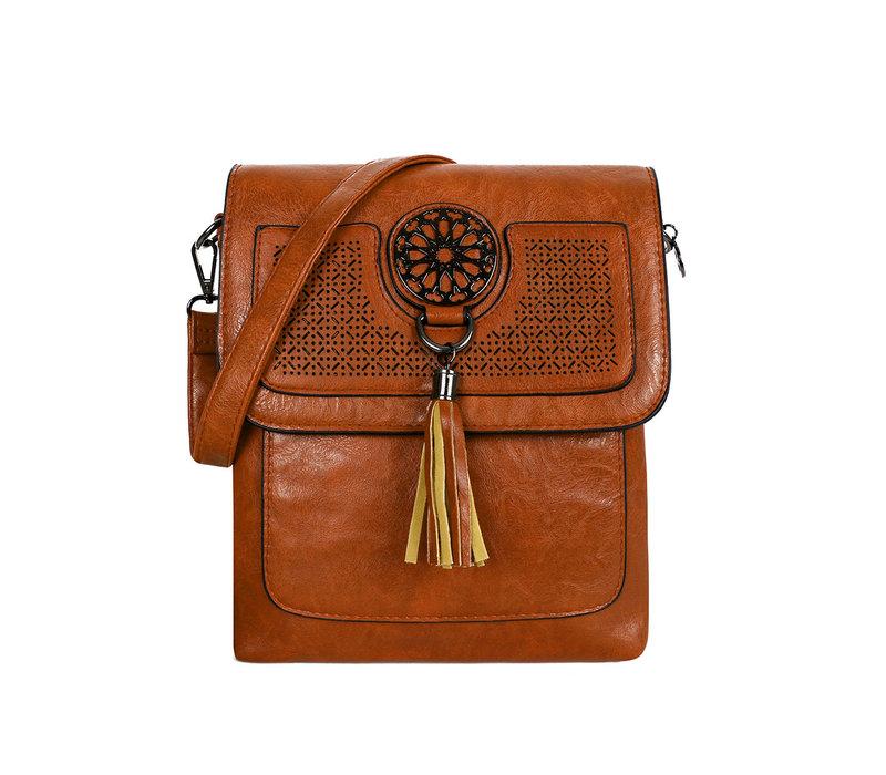 GESSY 1204 Crossbody bag in Tan