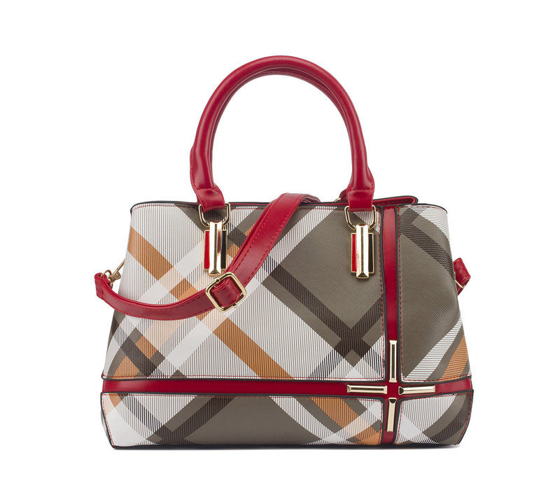 GESSY F29 Handbag in Red