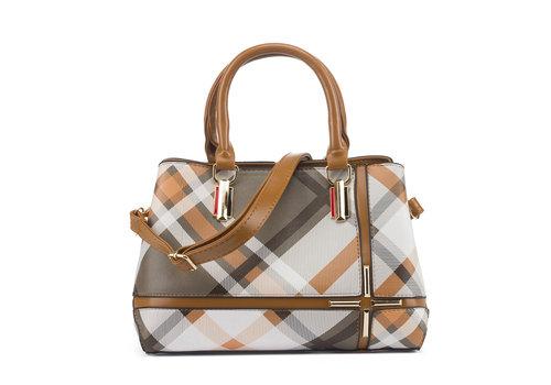 GESSY BAGS GESSY F29 Handbag in Tan multi