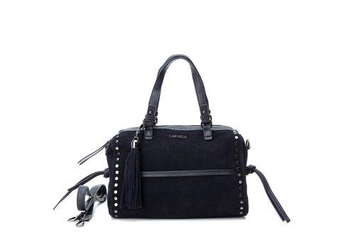 Carmela Carmela 86200 Navy suede Bag