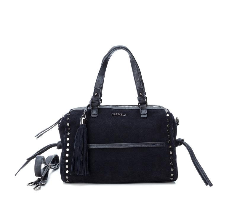 Carmela 86200 Navy suede Bag