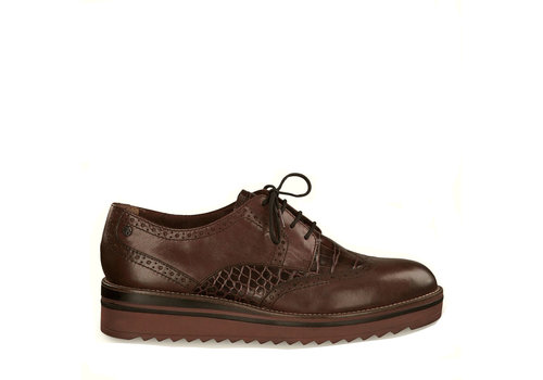 Tamaris A/W Tamaris 23729 Chestnut/Croco shoes