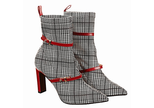 Lodi Lodi SENES Tartan/Red A/Boots