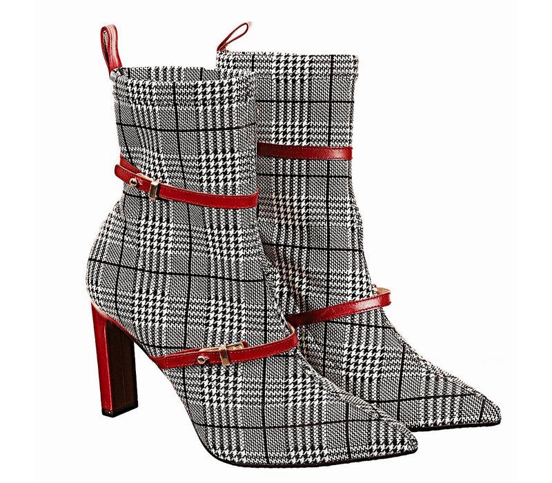 Lodi SENES Tartan/Red A/Boots