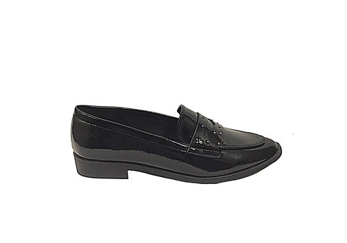 Sprox Sprox 479511 Black Flat Patent Shoe