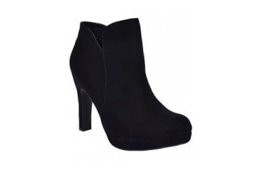 Sprox Sprox 488903 Black Suede A/Boots