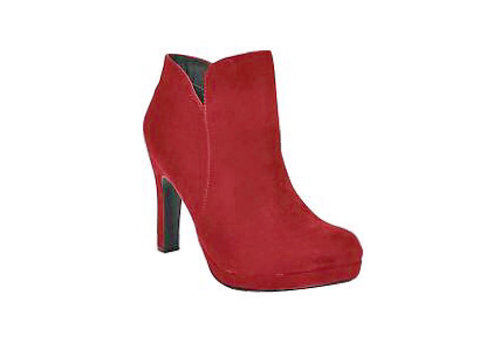 Sprox Sprox 488903 Red Suede A/Boots