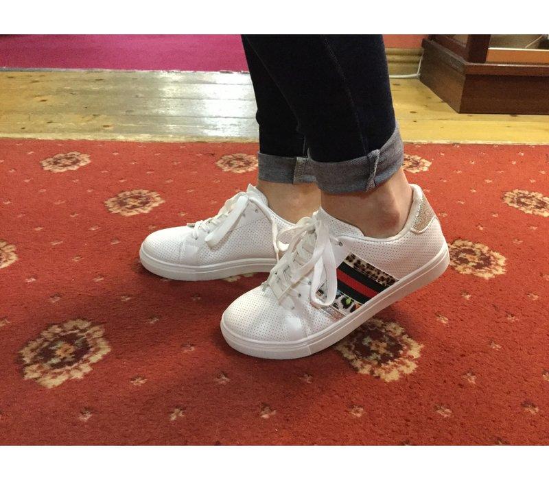 Milly & Co. B378870 White multi sneaker