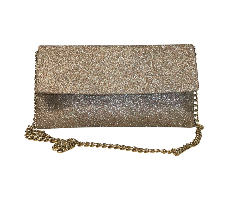 Le Babe MULTI GOLD GLITTER Bag