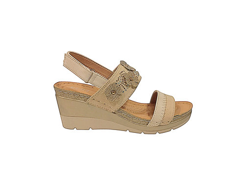 REDZ REDZ 9Q6022-B7 Beige Sandals
