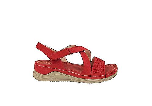 REDZ Nine 2 Five 8046-B15 Red sandals