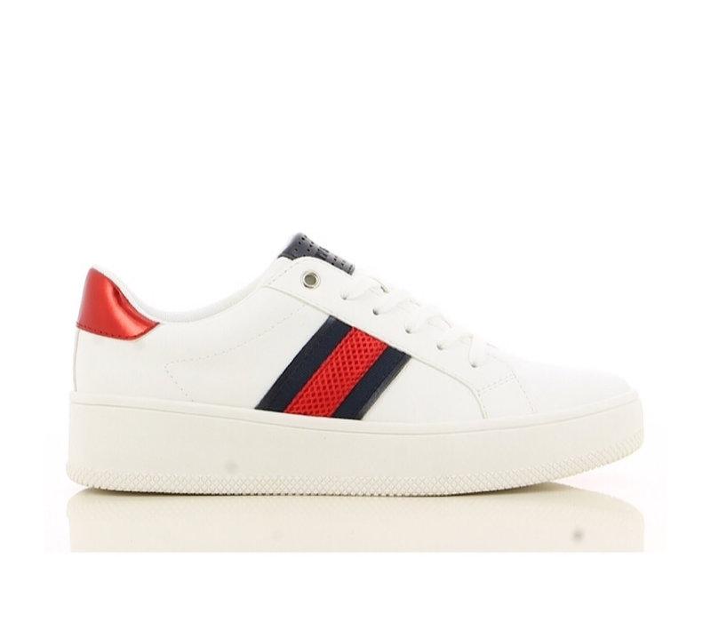 Sprox 499390 Wht/nav sneakers
