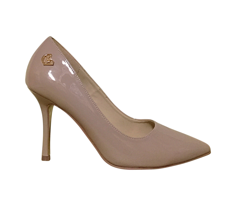 Glamour COURTNEY Nude patent shoes