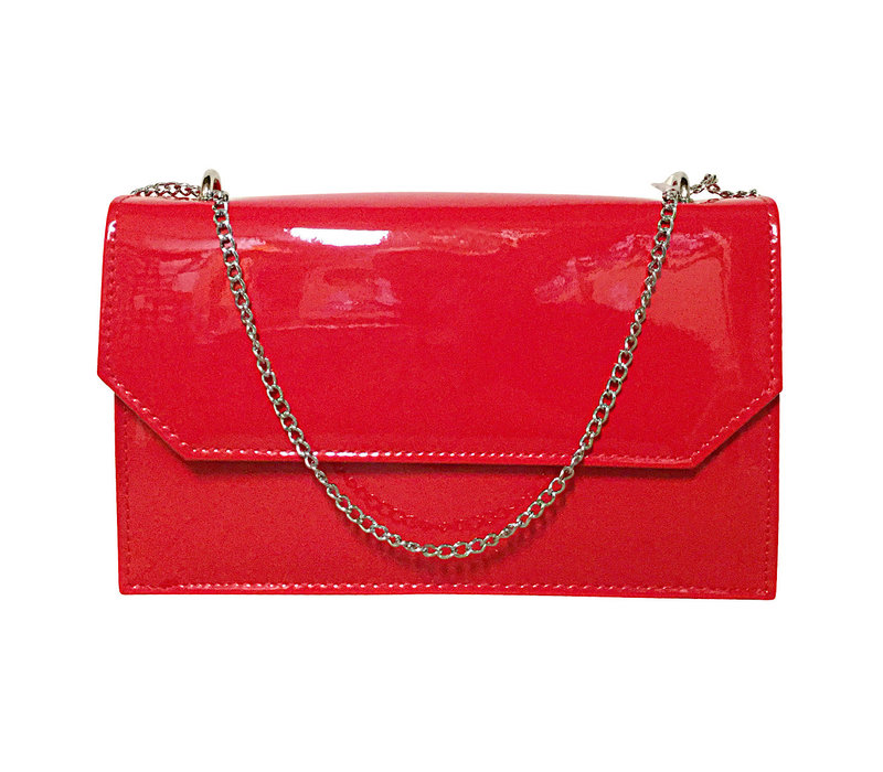 Glamour CHLOE Red patent Bag