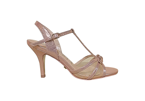 Glamour Glamour SUSAN Rose T-Bar sandals