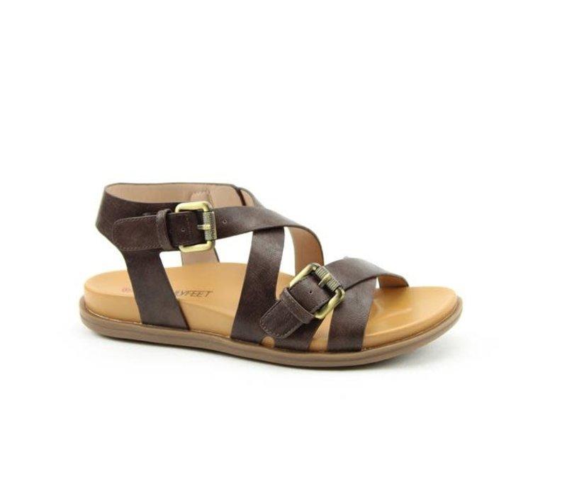 Heavenly Feet APOLIO Choco sandal