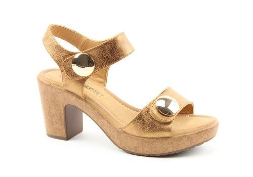 Heavenly Feet Heavenly Feet SADIE Rose Gold sandals