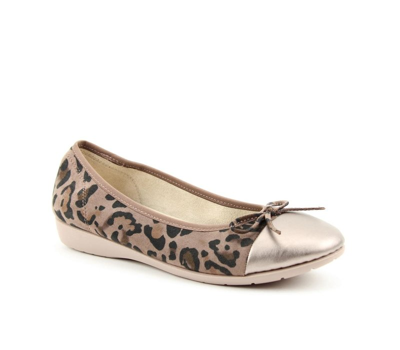 Heavenly Feet VERVE Taupe pumps