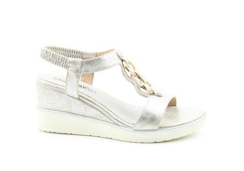 Heavenly Feet Heavenly Feet MILENA Silver sandals