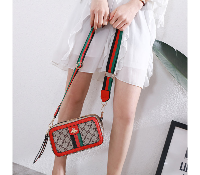 Peach 1919 Red Bee style Bag