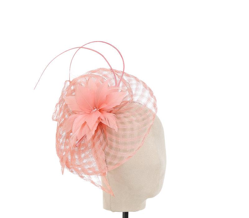 Peach TS0690 Blossom Facinator