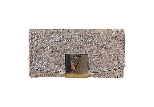 Lodi Lodi LP950 Gold Glitter Snake Bag