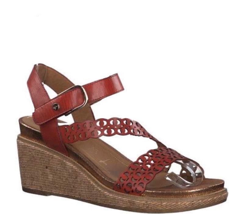 Tamaris 28022 Chili wedge sandal