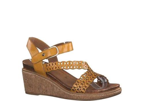 Tamaris S/S Tamaris 28022 Saffron wedge sandal