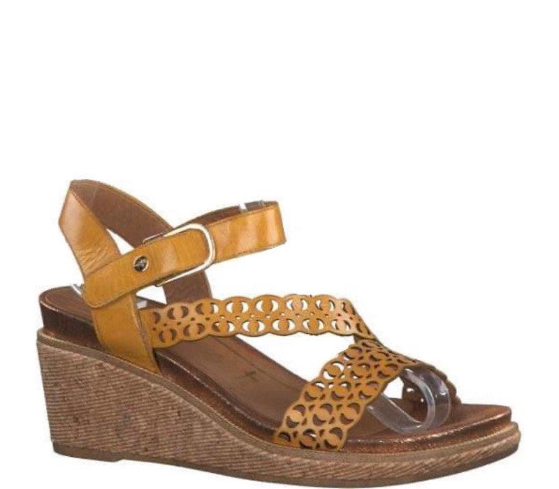 Tamaris 28022 Saffron wedge sandal
