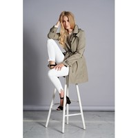 JUNGE 0120-2810-42 Sand Trench coat