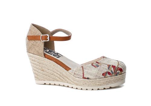 Refresh S/S Refresh 69831 Cream floral shoe