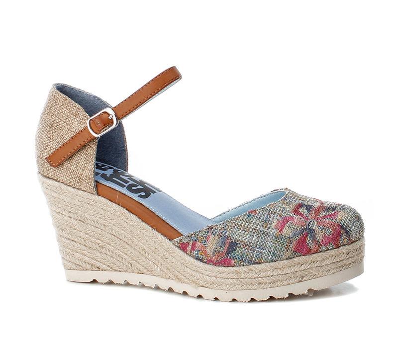 Refresh 69831 Blue floral shoe