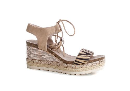 Refresh S/S Refresh 69698 Zebra toggle sandal