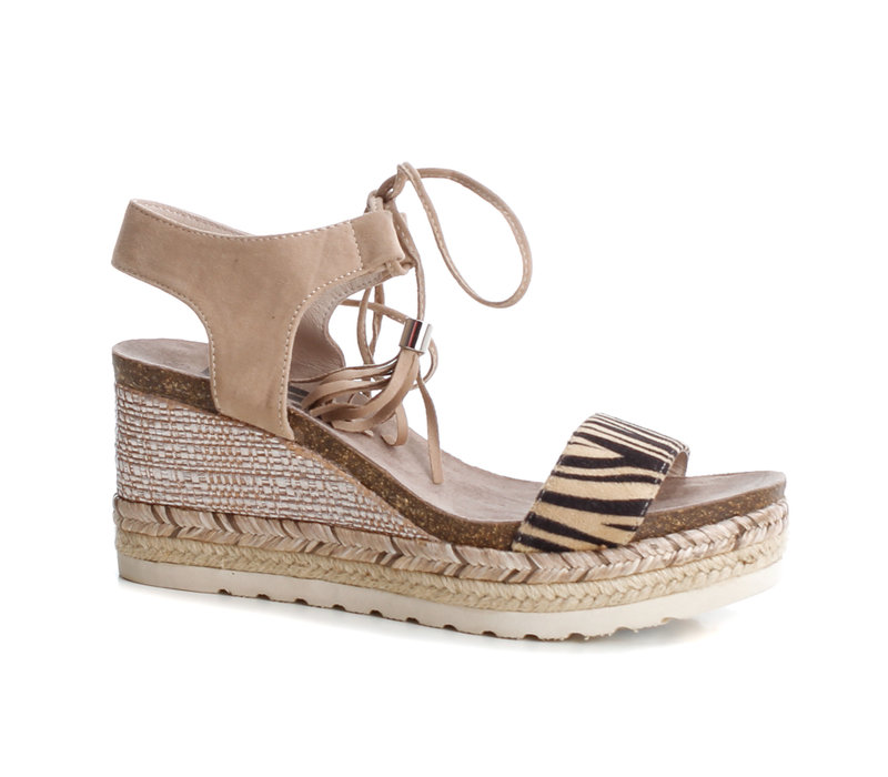 Refresh 69698 Zebra toggle sandal