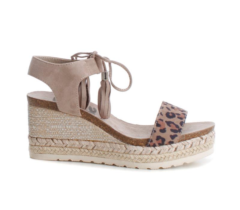Refresh 69698 Leopard Toggle sandal