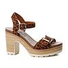 Refresh S/S Refresh 69697 Leopard strap sandals