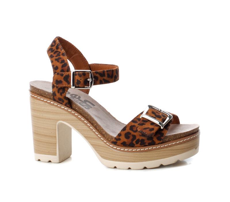 Refresh 69697 Leopard strap sandals