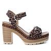 Refresh S/S Refresh 69697 Leopard Strap sandal