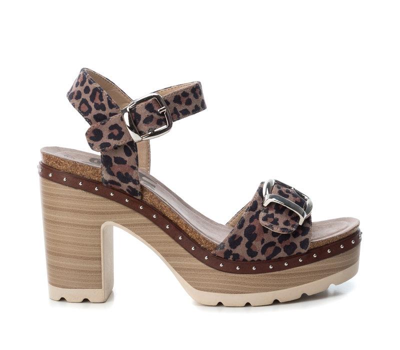 Refresh 69697 Leopard Strap sandal