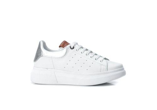 Carmela Carmela 67147 White/Silver Sneaker
