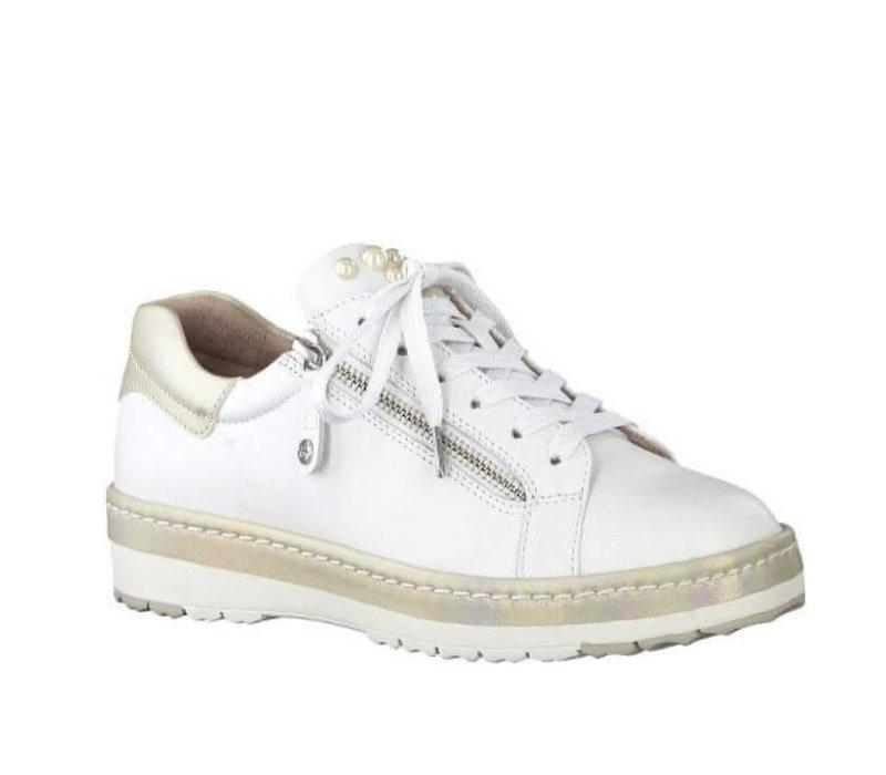 Tamaris 23711 White/Champ Sneaker
