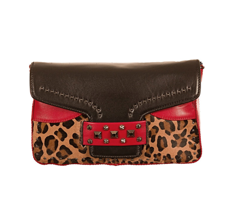Lodi CAPRINO Blk/Red/Leopard
