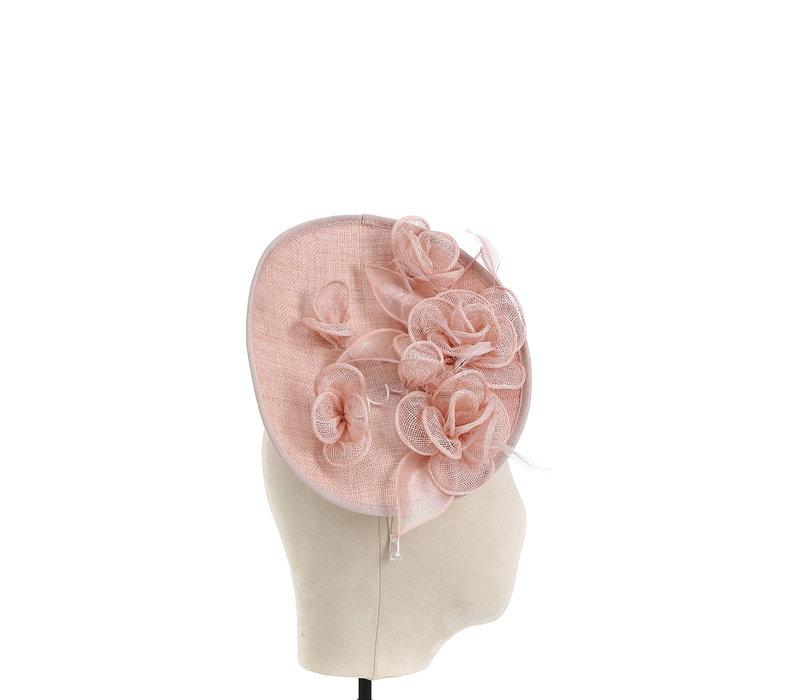 Peach TS079011 Blossom Facinator