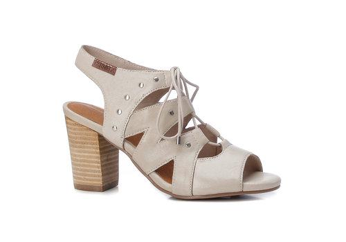 Carmela Carmela 67249 Beige laced sandal
