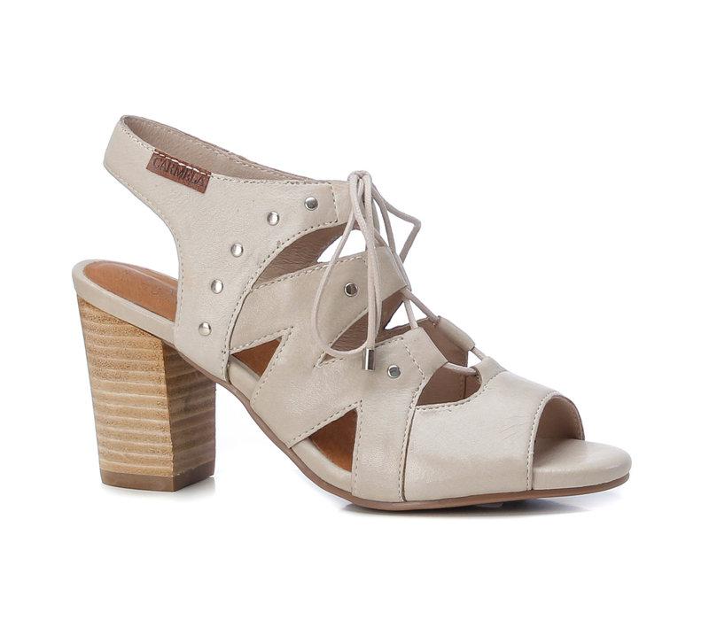 Carmela 67249 Beige laced sandal
