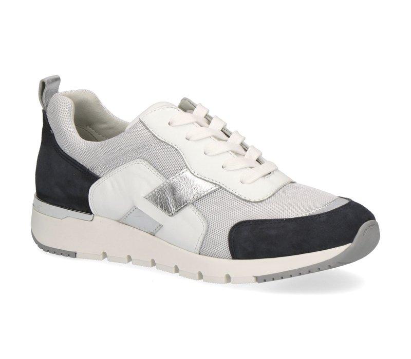 Caprice 23707 Ocean/White Sneakers