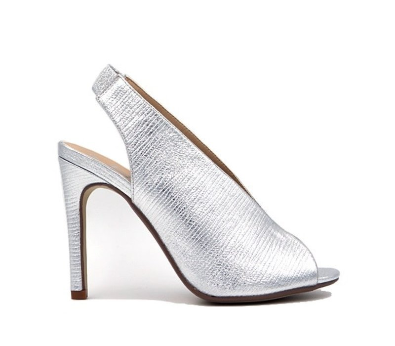 Milly & Co. CAROLINE Silver Shoes